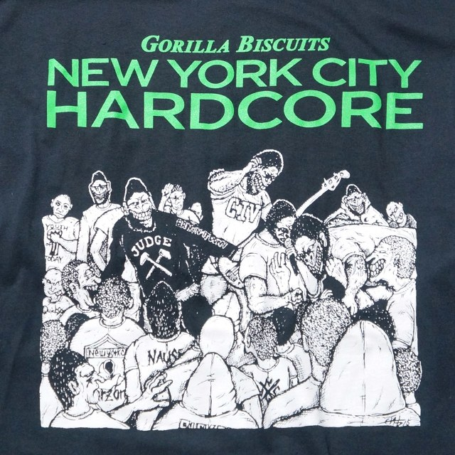 GORILLA BISCUITS ロングスリーブTシャツ The Way It Is -Black