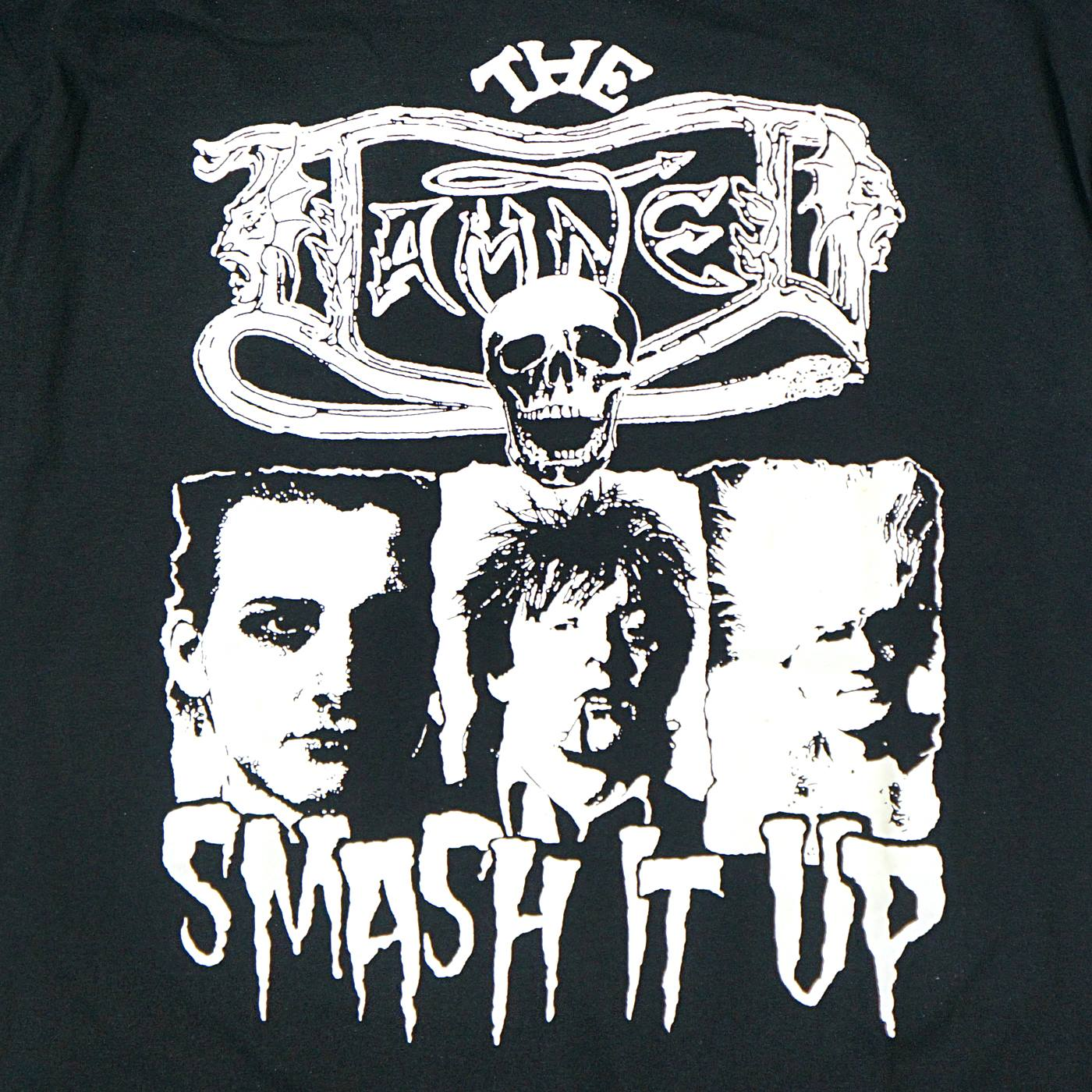 DAMNED Tシャツ Smash It Up-Glow In The Dark-Black