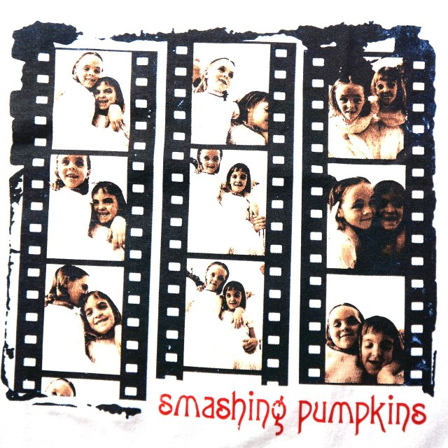Smashing Pumpkins Tシャツ Siamese Negatives - White