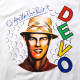 DEVO Tシャツ Are We Not Men?-White