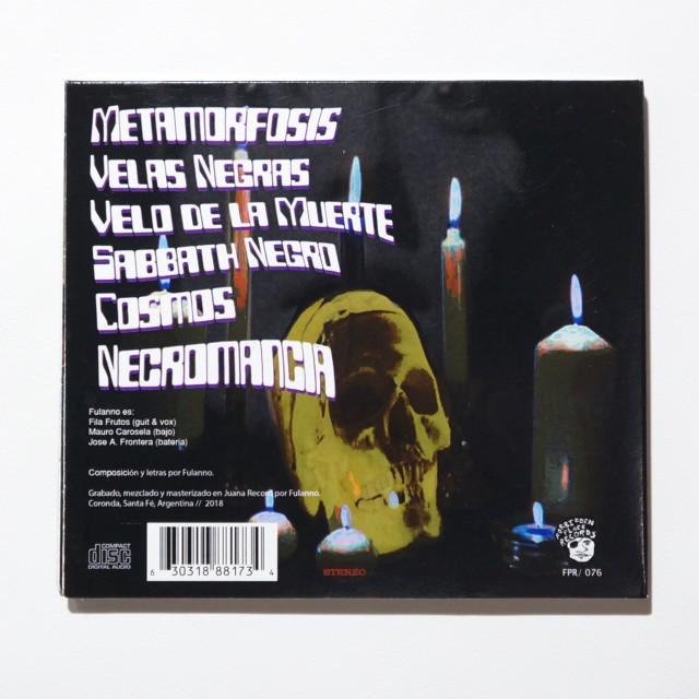 FULANNO - Velas Negras CD (Ltd.300)