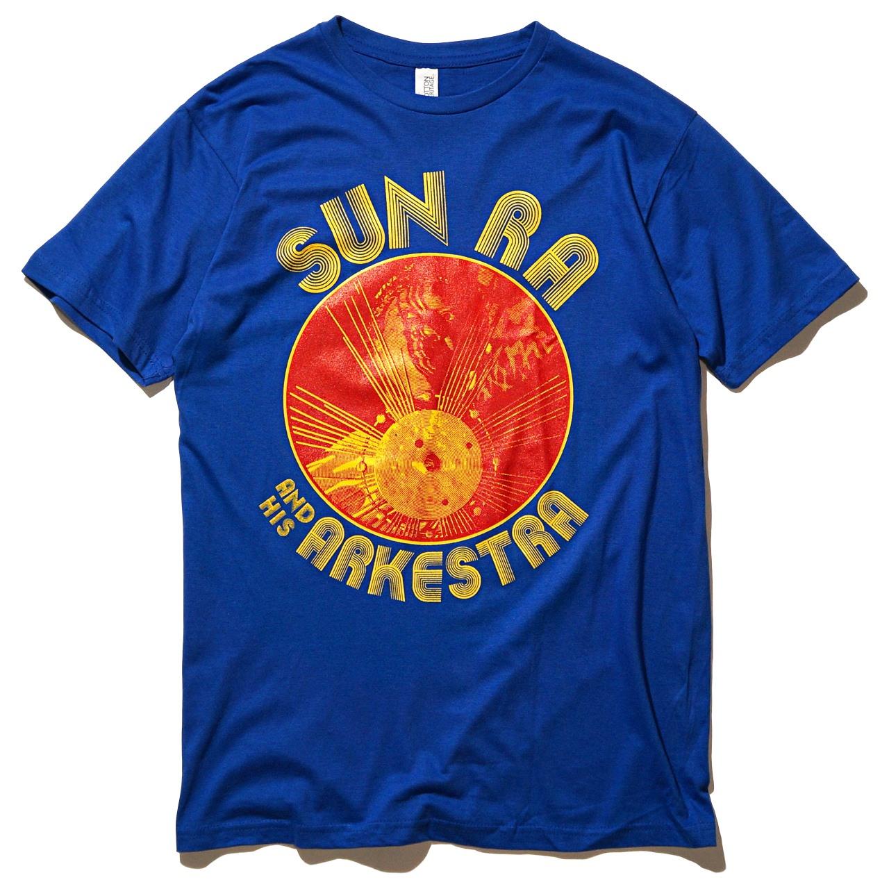 SUN RA & HIS ARKESTRA Tシャツ Circular-Blue