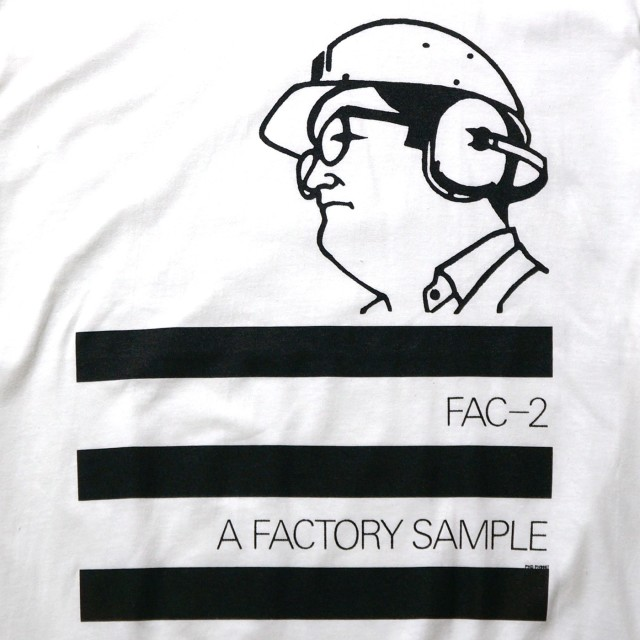 Factory Records Tシャツ A Factory Sample-White