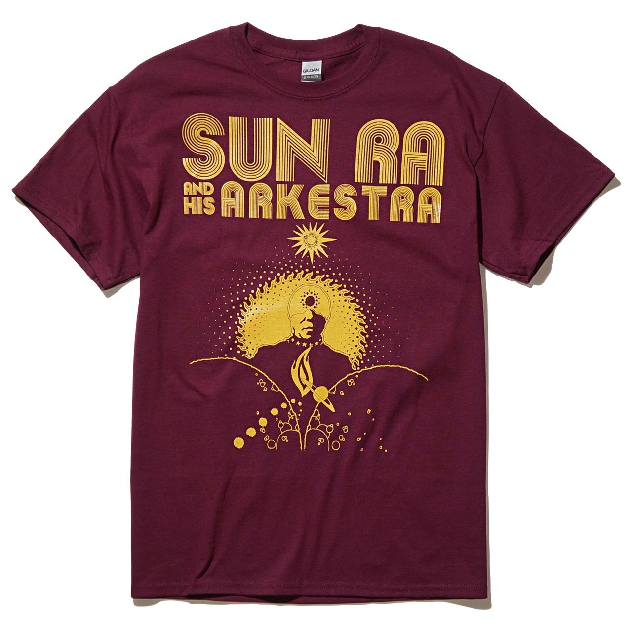 SUN RA & HIS ARKESTRA Tシャツ Cosmic-Maroon