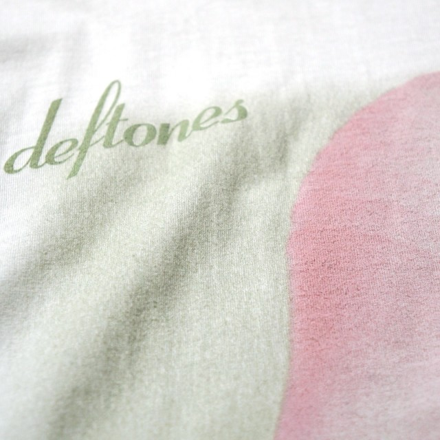 DEFTONES Tシャツ Adrenaline-White