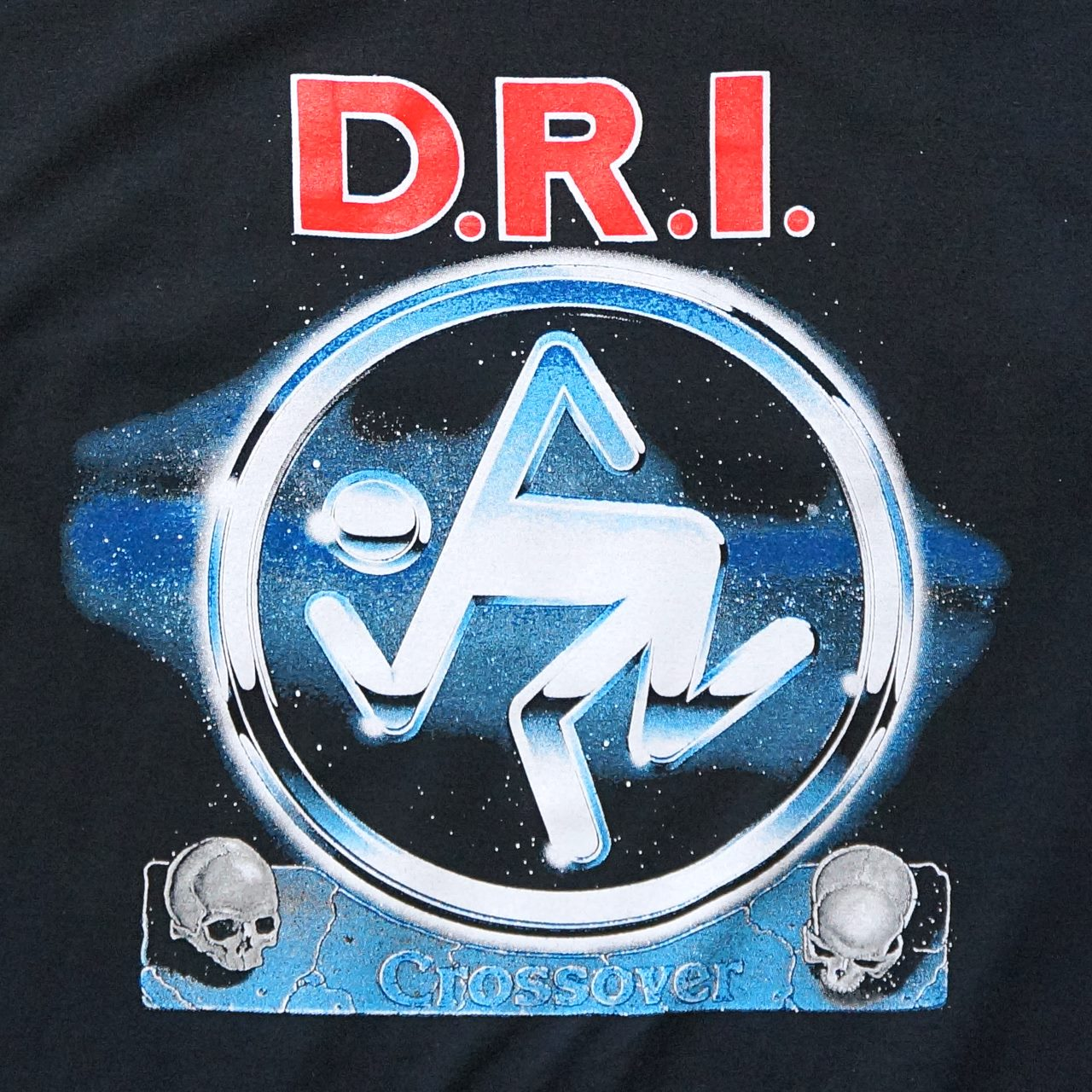 D.R.I. バンド Tシャツ Crossover-Black