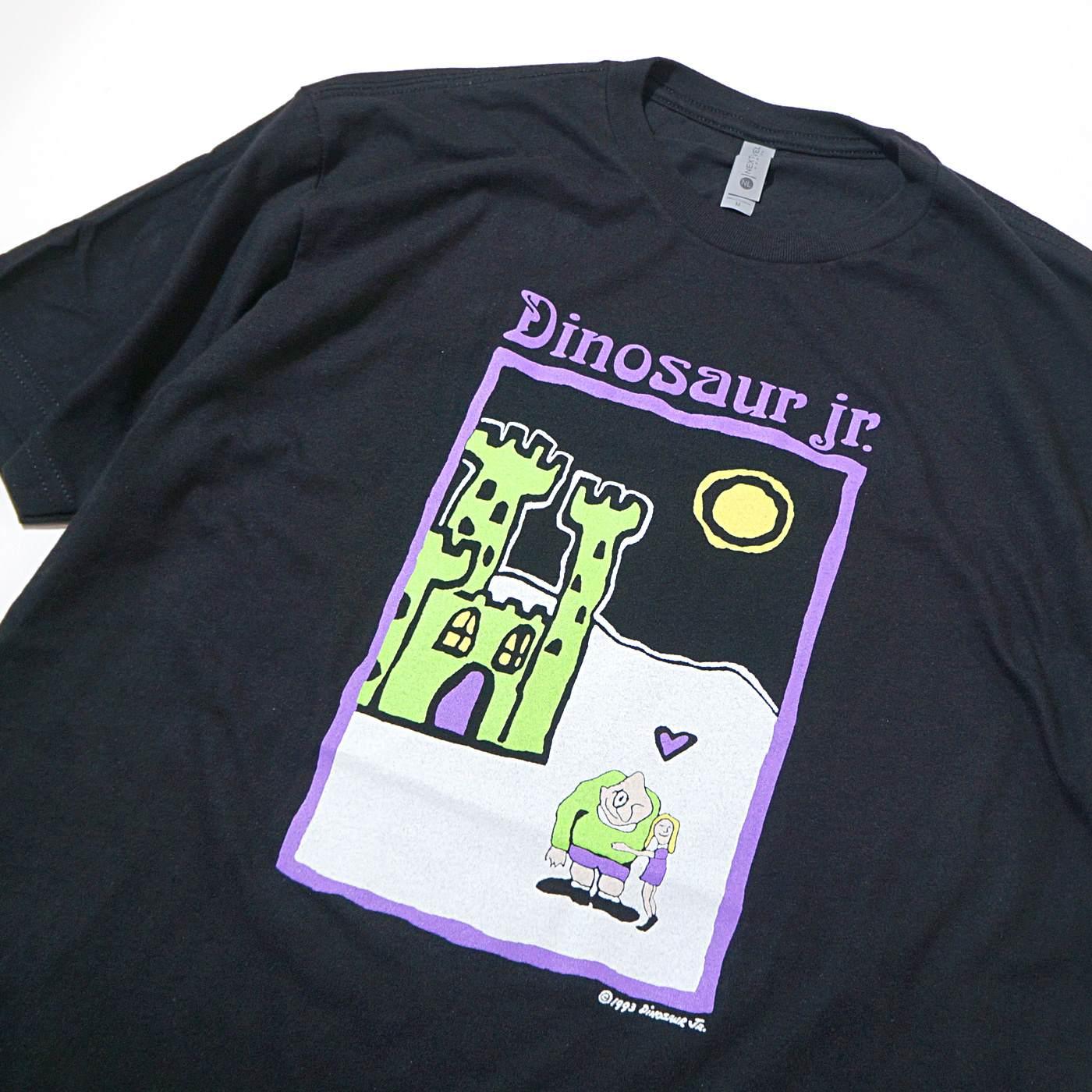 DINOSAUR Jr. Tシャツ Castle-Black