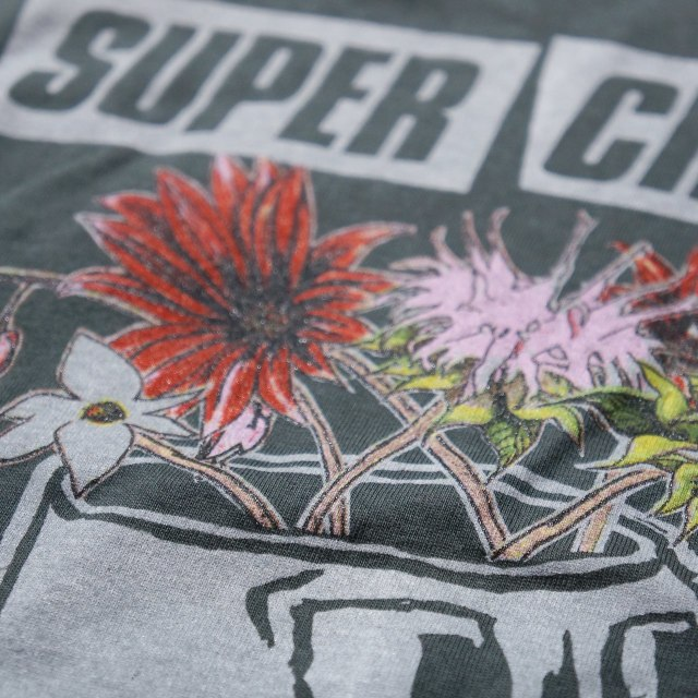 SUPERCHUNK Tシャツ What a Time to Be Alive-Grey