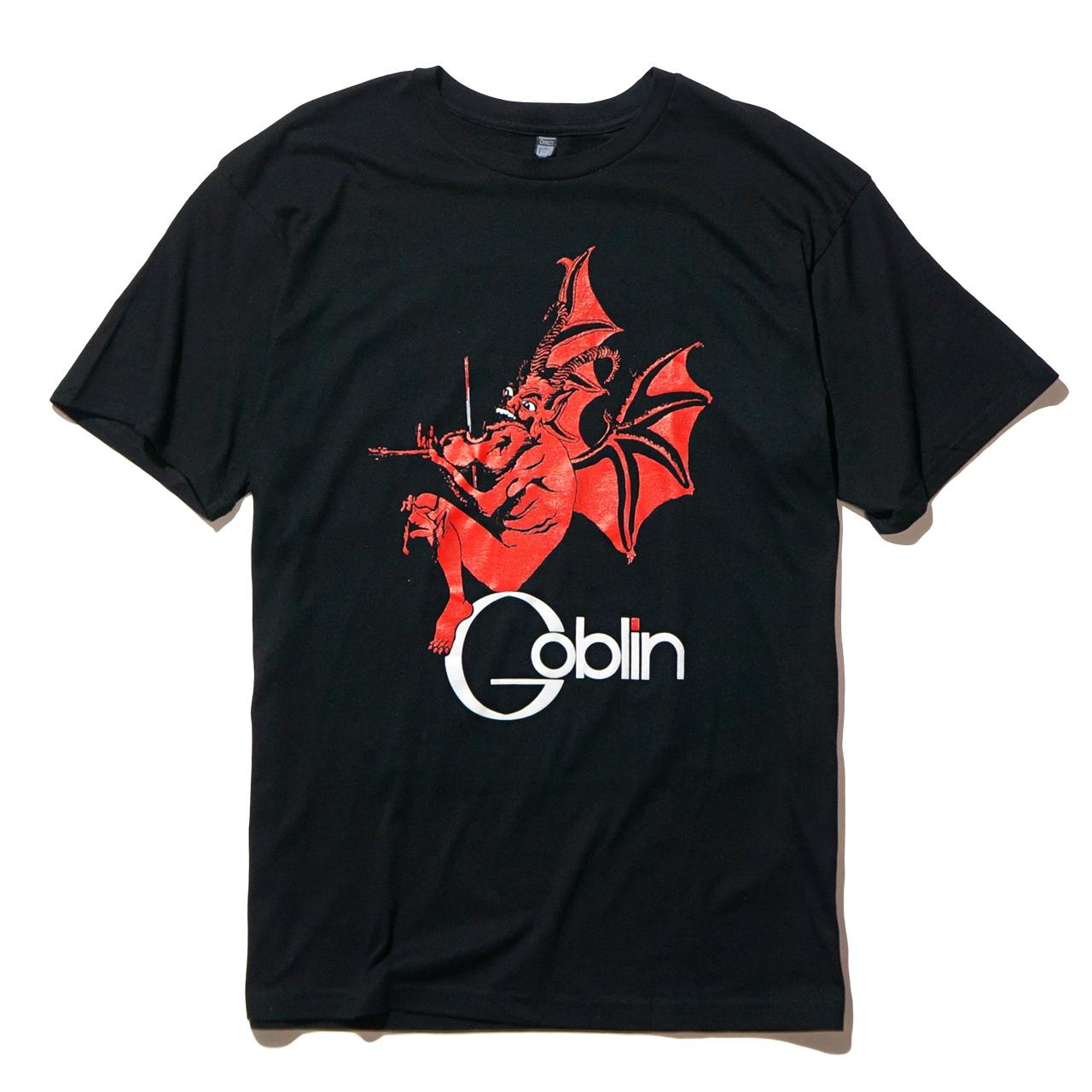 GOBLIN バンド Tシャツ  Roller-Black