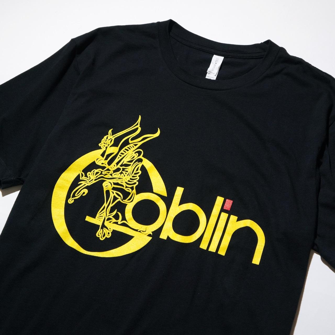 GOBLIN バンド Tシャツ Yellow Logo-Black