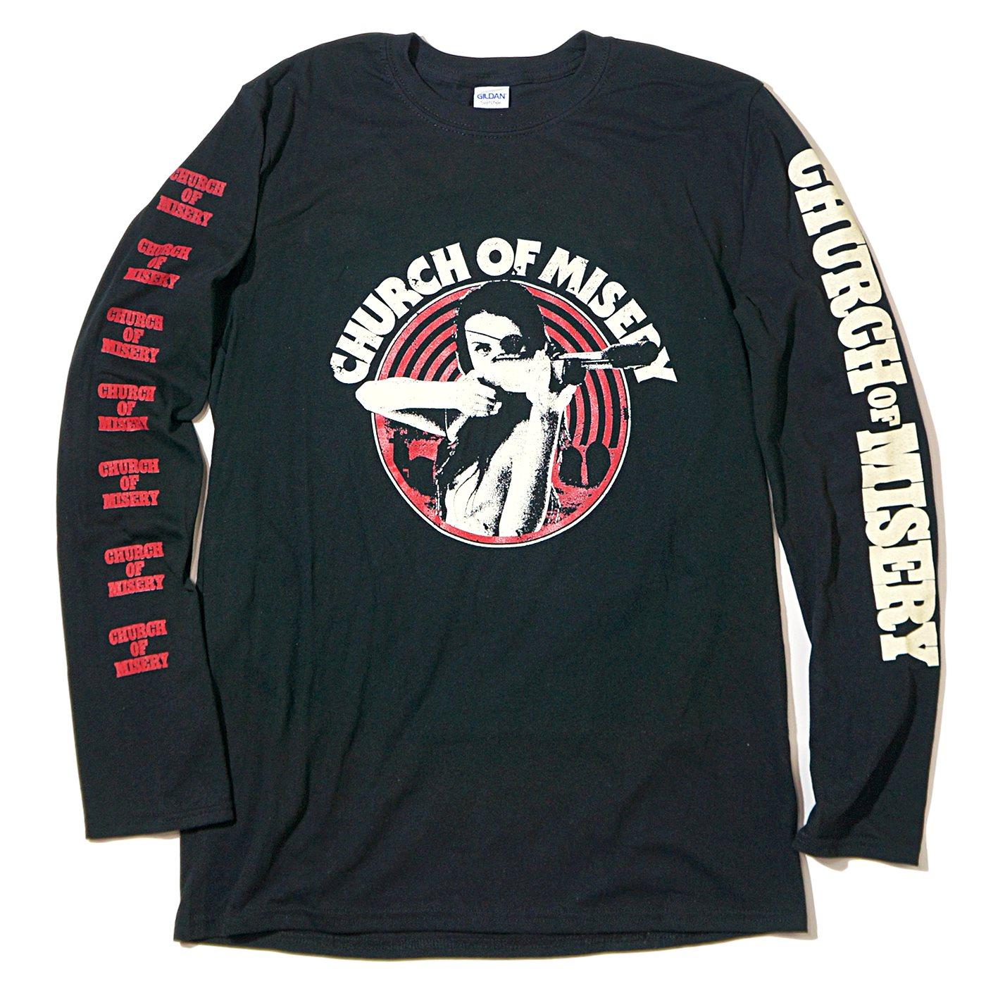 CHURCH OF MISERY ロングスリーブTシャツ One Eye-Black