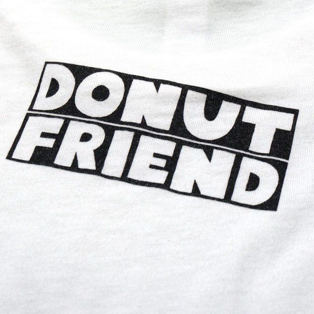 DONUT FRIEND Tシャツ Drive Like Jelly - White