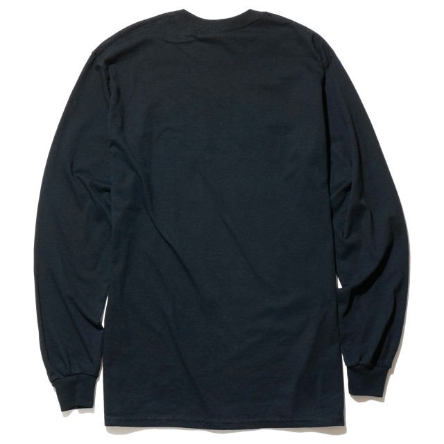 Dischord Records ロングスリーブTシャツ /Old Logo- Black