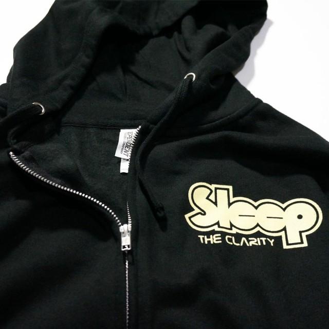 SLEEP ジップアップパーカー/The Clarity Astronaut - Black