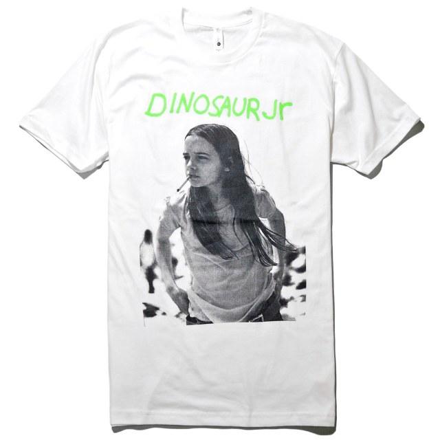 Dinosaur Jr. (ダイナソーJr) Tシャツ Green Mind-White