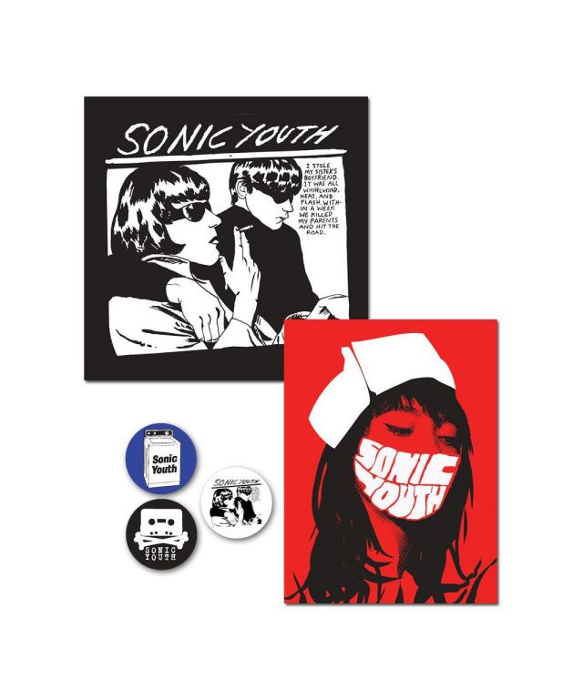 SONIC YOUTH ステッカー・バッジセット / Goo + Nurse Sticker/Button pack