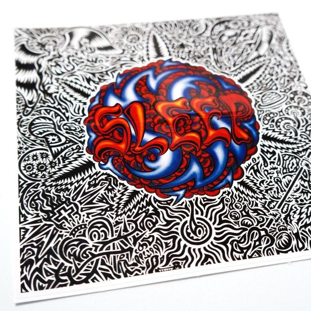 SLEEP ステッカー Holy Mountain Stickers