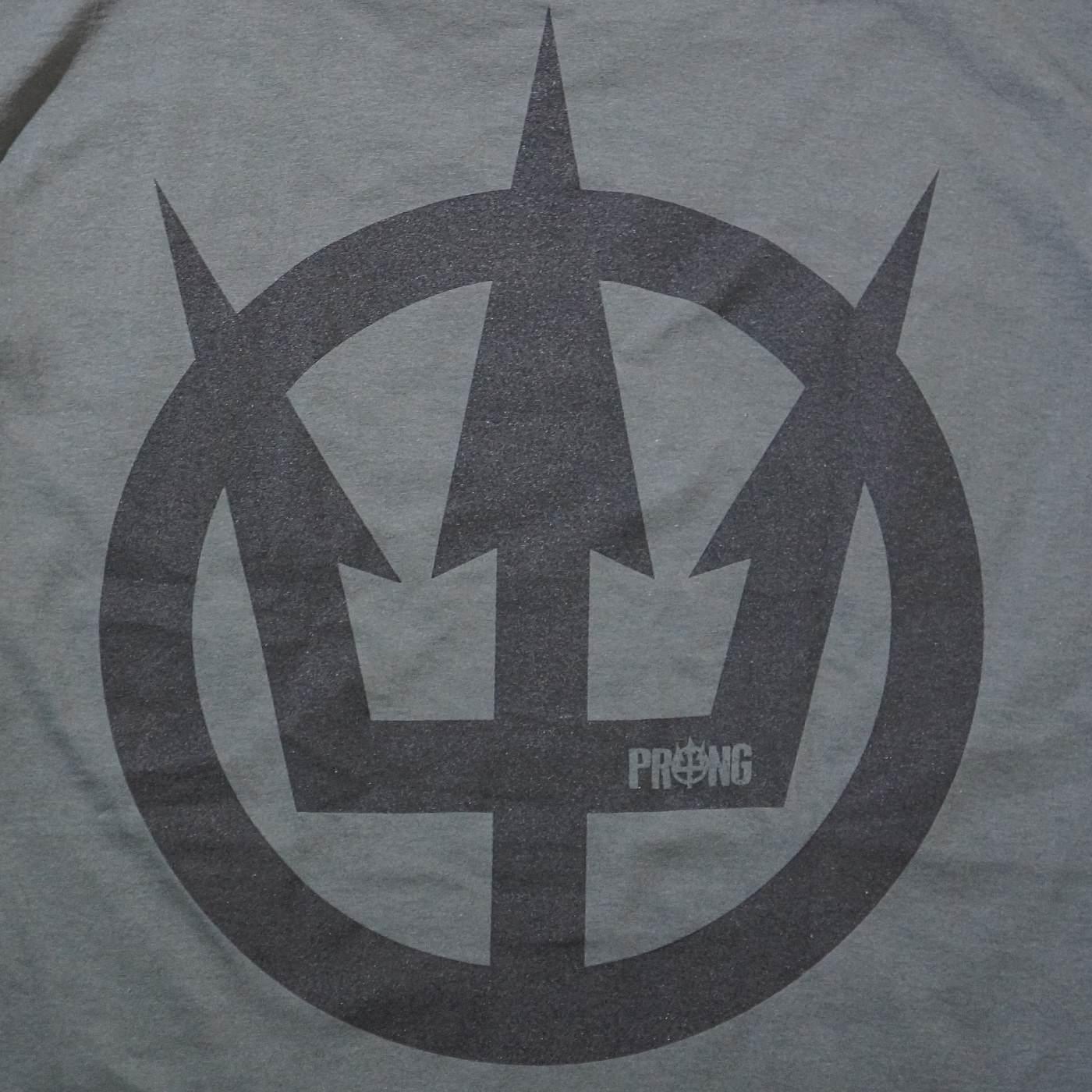 PRONG プロング Tシャツ Logo-Charcoal