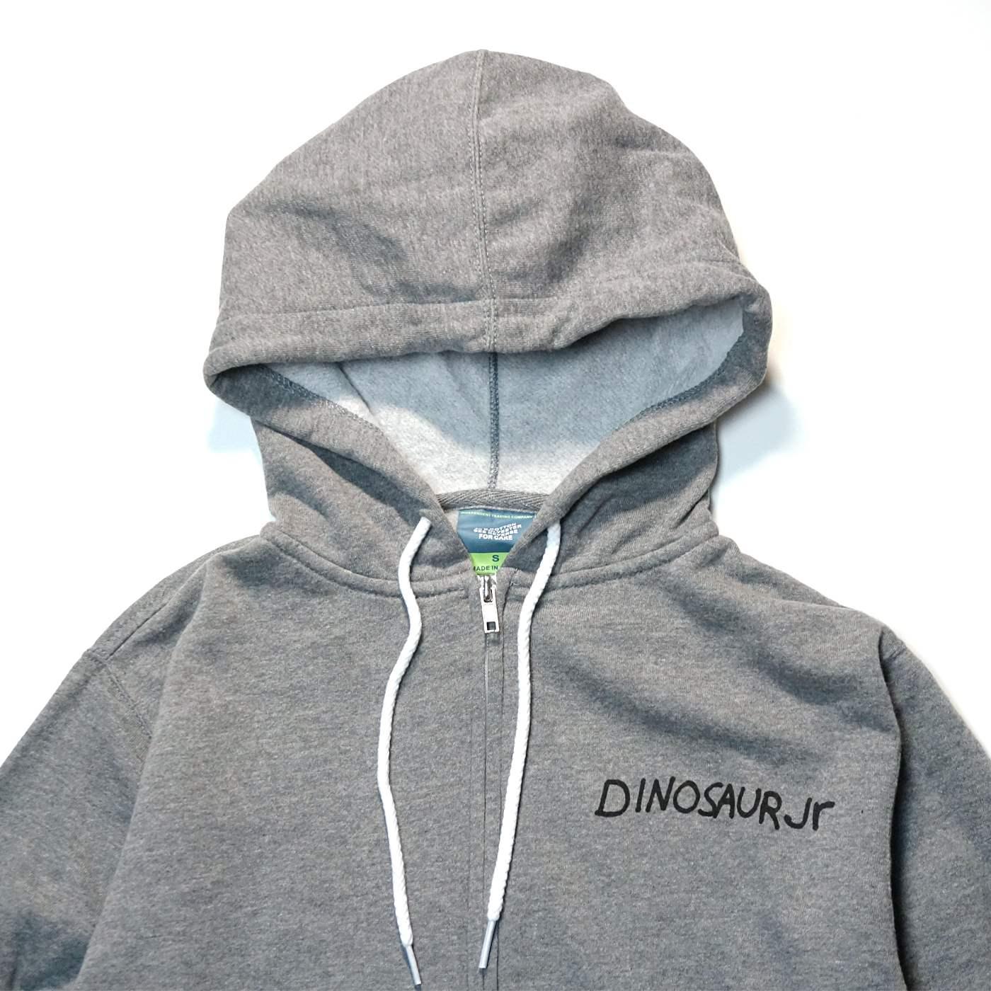 Dinosaur Jr. (ダイナソーJr) ジップパーカー / Green Mind Hoodie - グレー