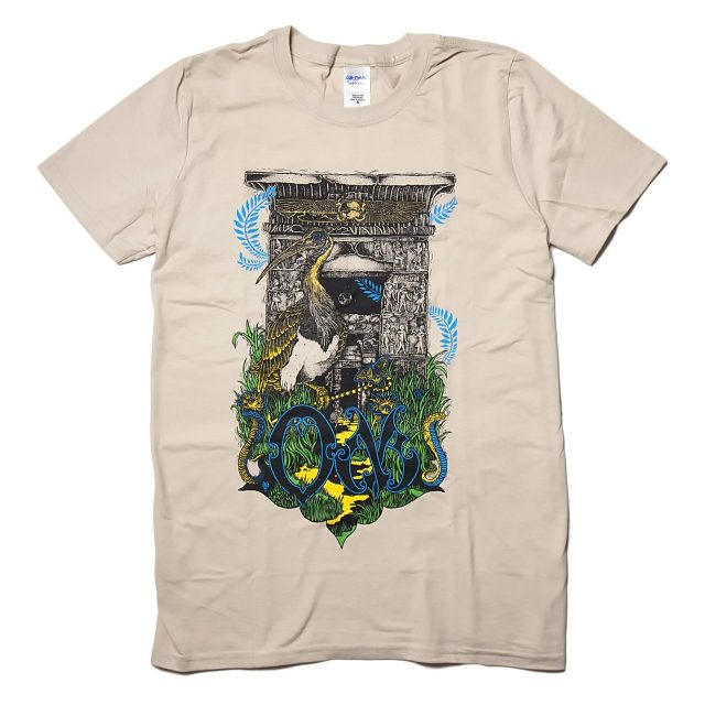 OM (オム) バンド Tシャツ/Dendur