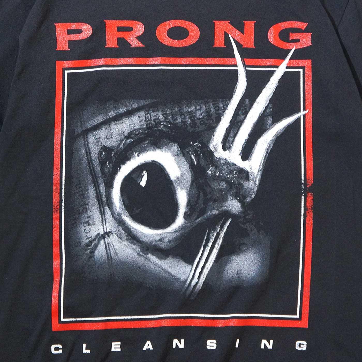PRONG プロング Tシャツ Cleansing-Black