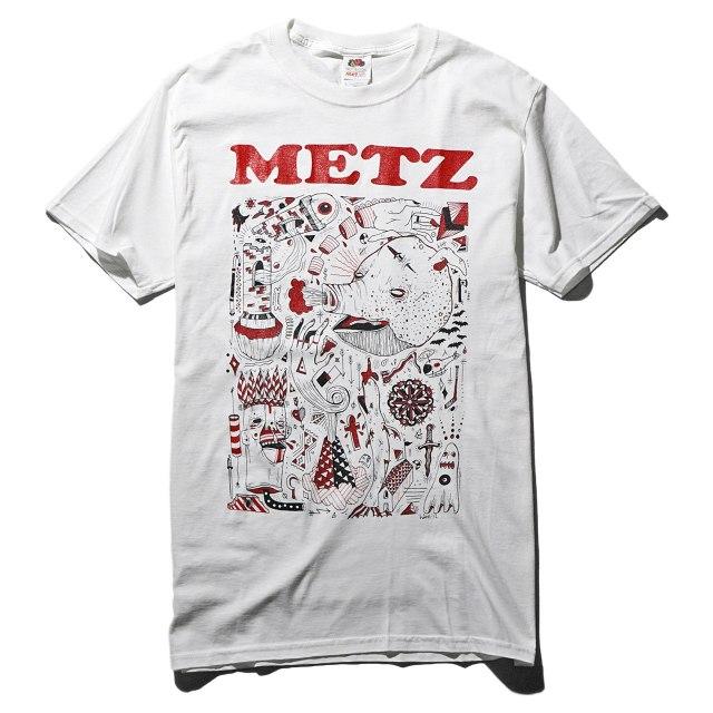 METZ Tシャツ/Piggy-White