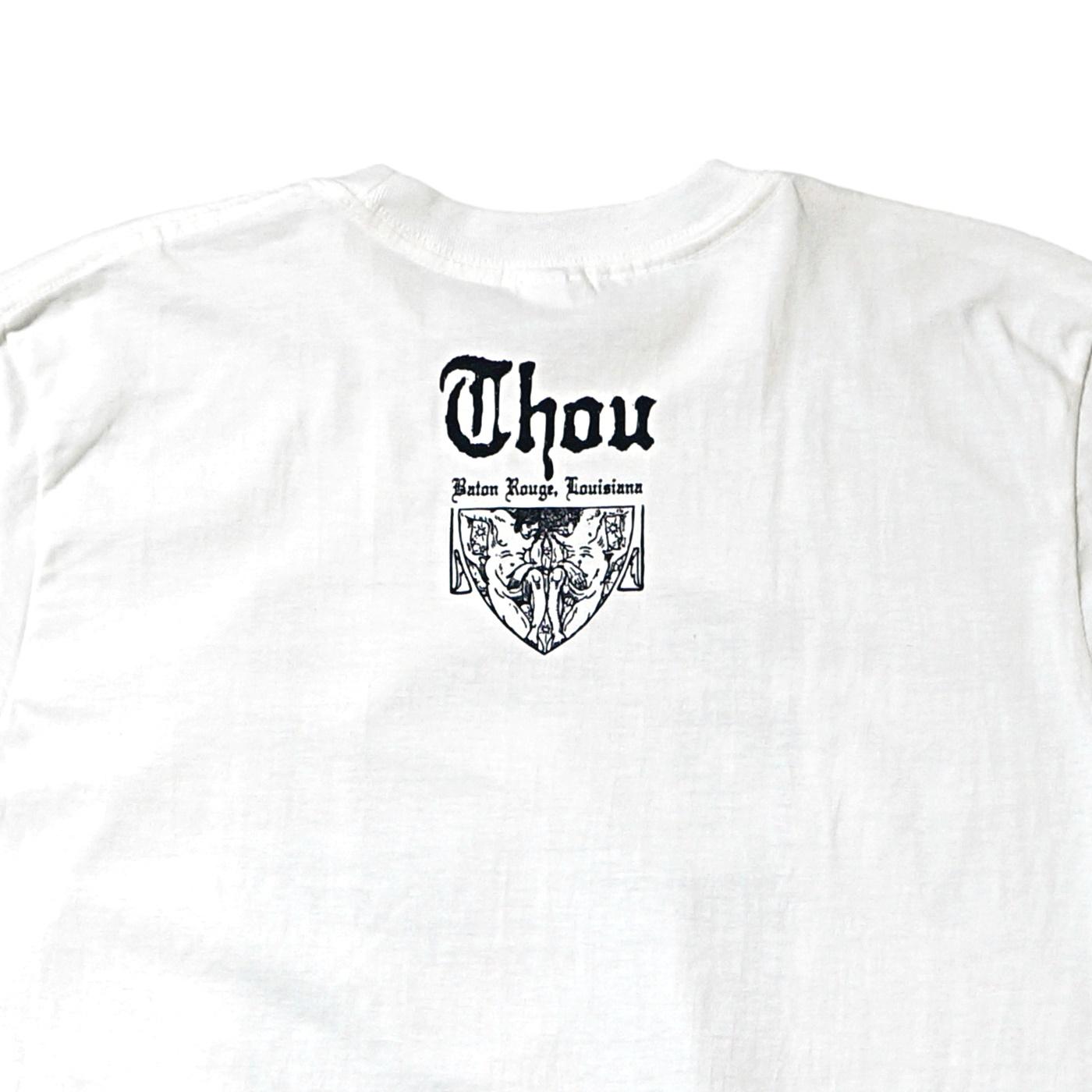 THOU バンドTシャツ Punk Rock-White