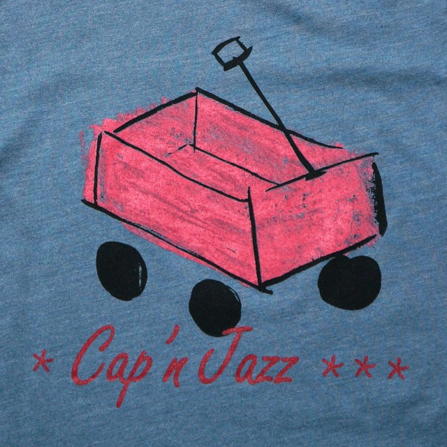 Cap'n Jazz Tシャツ Red Wagon-Heather Slate