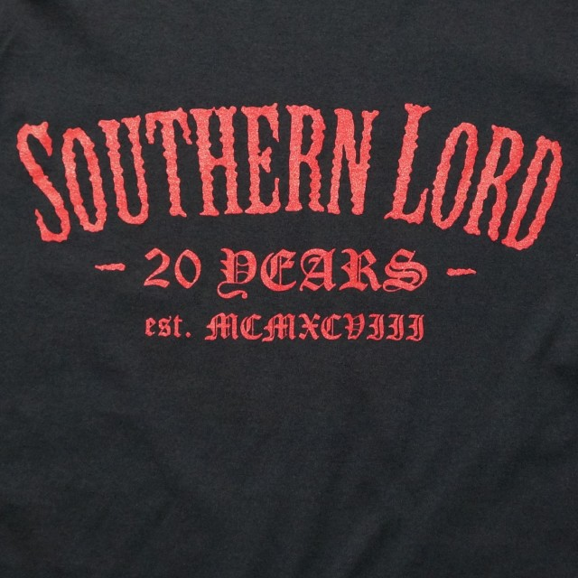 SOUTHERN LORD ロングスリーブシャツ 20th Anniversary-Black