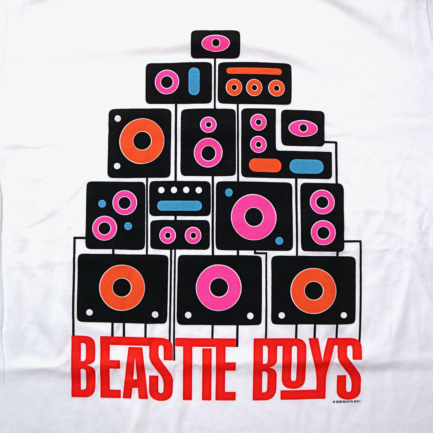 BEASTIE BOYS Tシャツ Tape-White