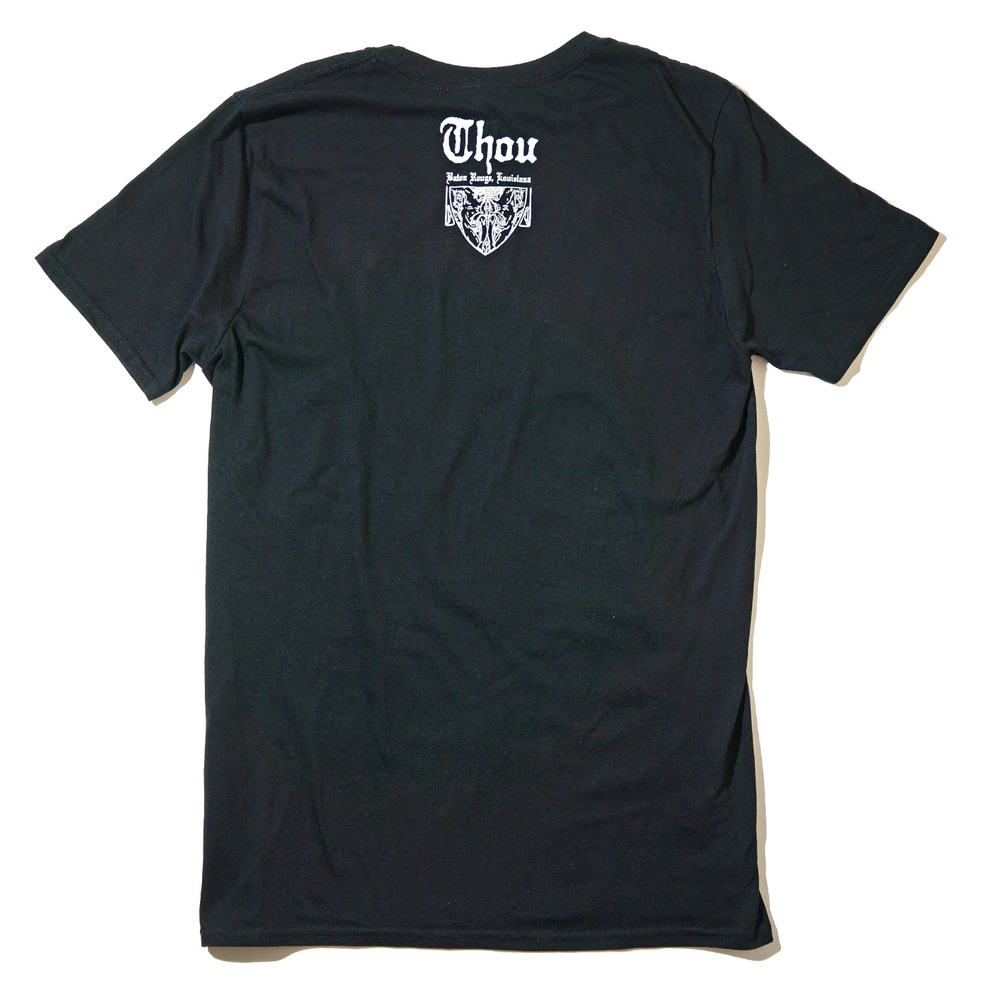 THOU バンドTシャツ Punk Rock-Black