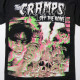 THE CRAMPS Tシャツ ザ・クランプス Off The Bone 3D- Black