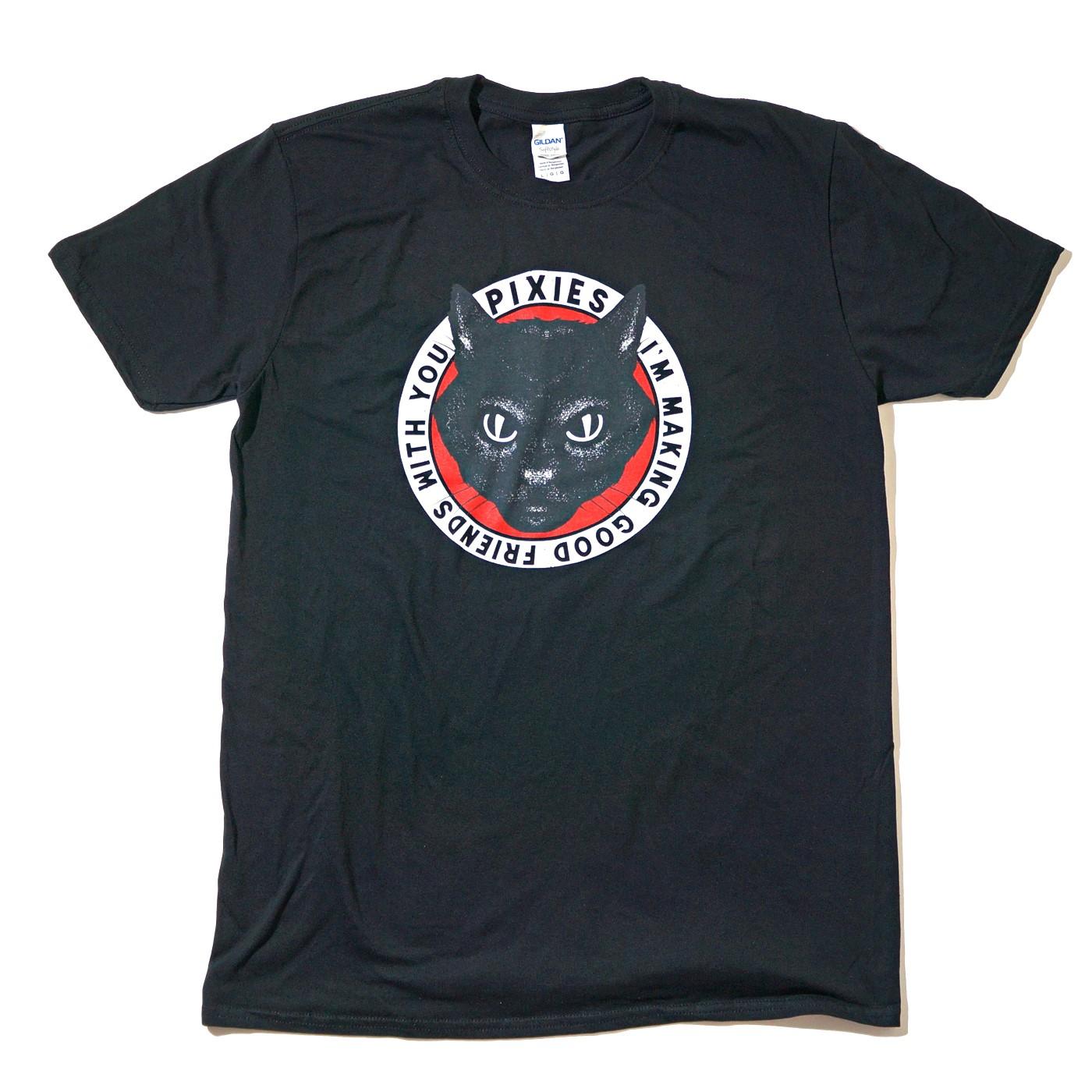 PIXIES Tシャツ Tame-Black