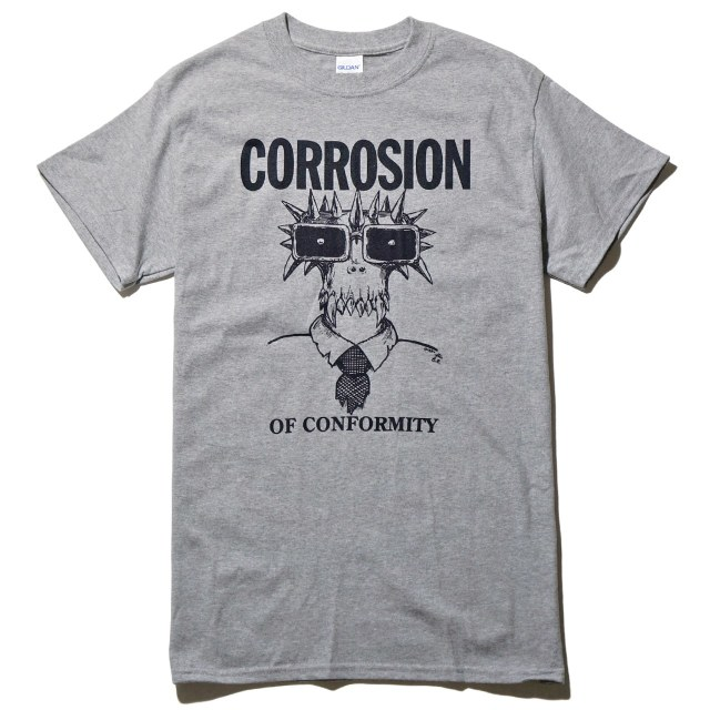 CORROSION OF CONFORMITY Tシャツ Milo Goes To Raleigh-Grey