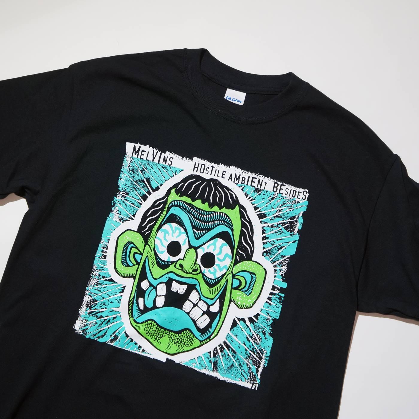 MELVINS Tシャツ Hostile Ambient Besides One-Black