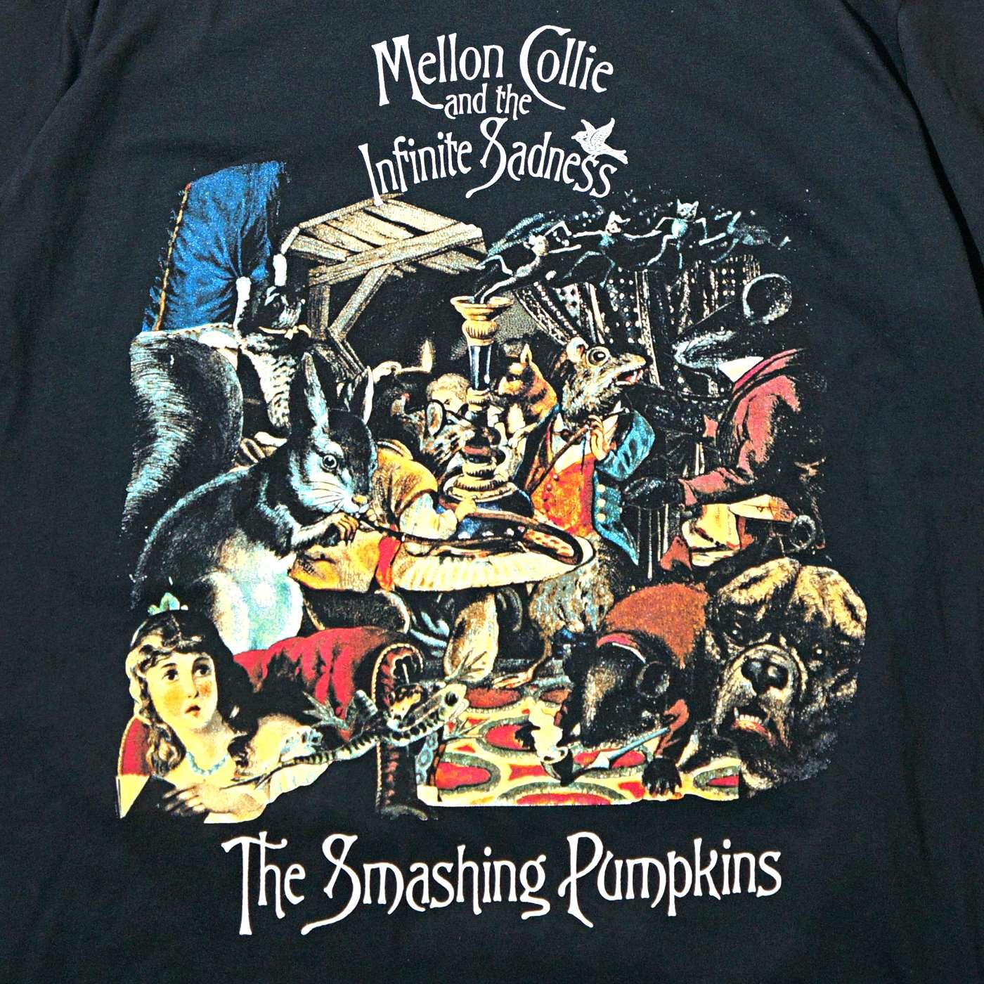 SMASHING PUMPKINS Tシャツ Mellon Jumble-Black