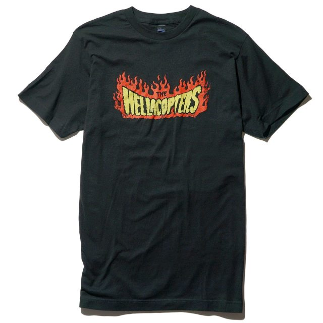 THE HELLACOPTERS Tシャツ Flame-Black
