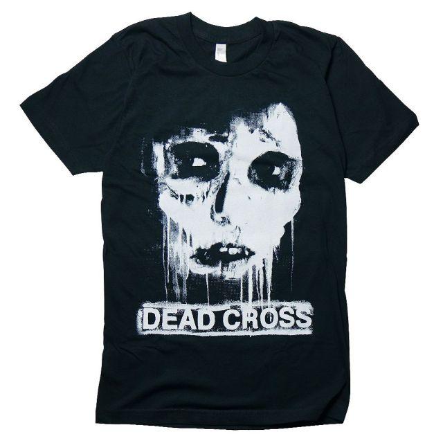 DEAD CROSS Tシャツ Face/Black