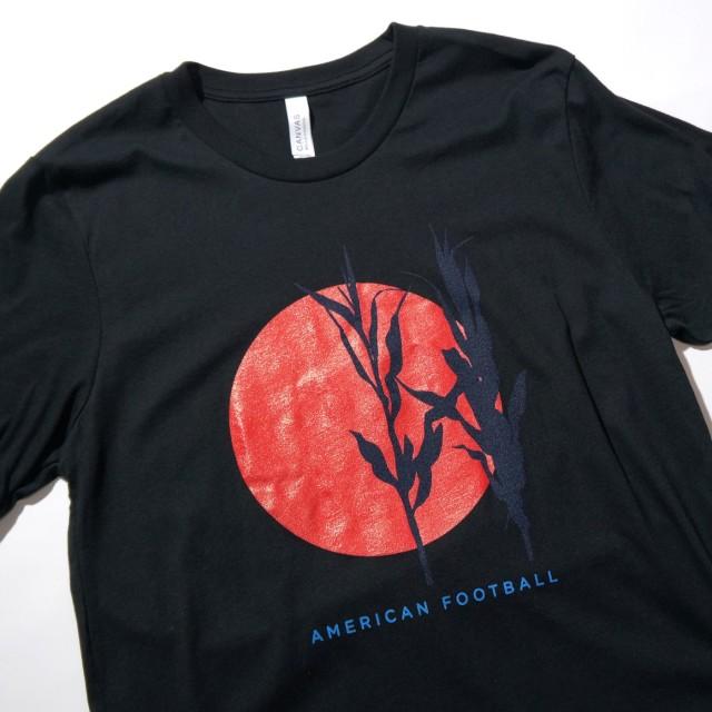 American Football Tシャツ Red Sun-Black