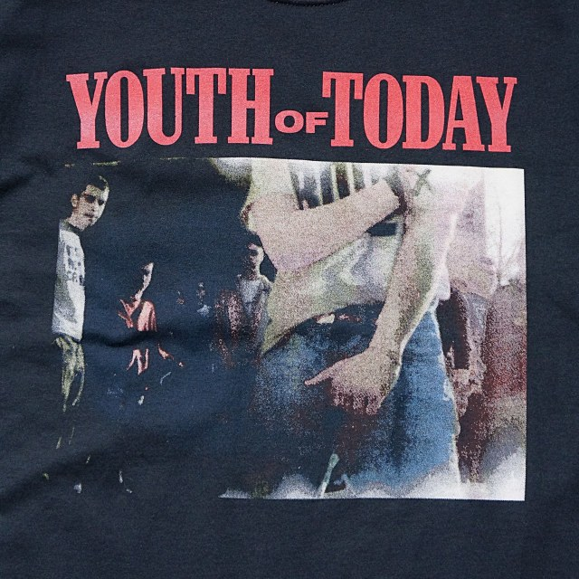 Youth Of Today Tシャツ We're Not In This Alone-Black