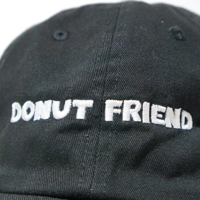 DONUT FRIEND キャップ DIY Donuts Dad Hat - Black