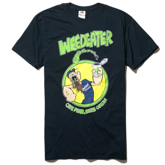 WEEDEATER Tシャツ Popeye - Black