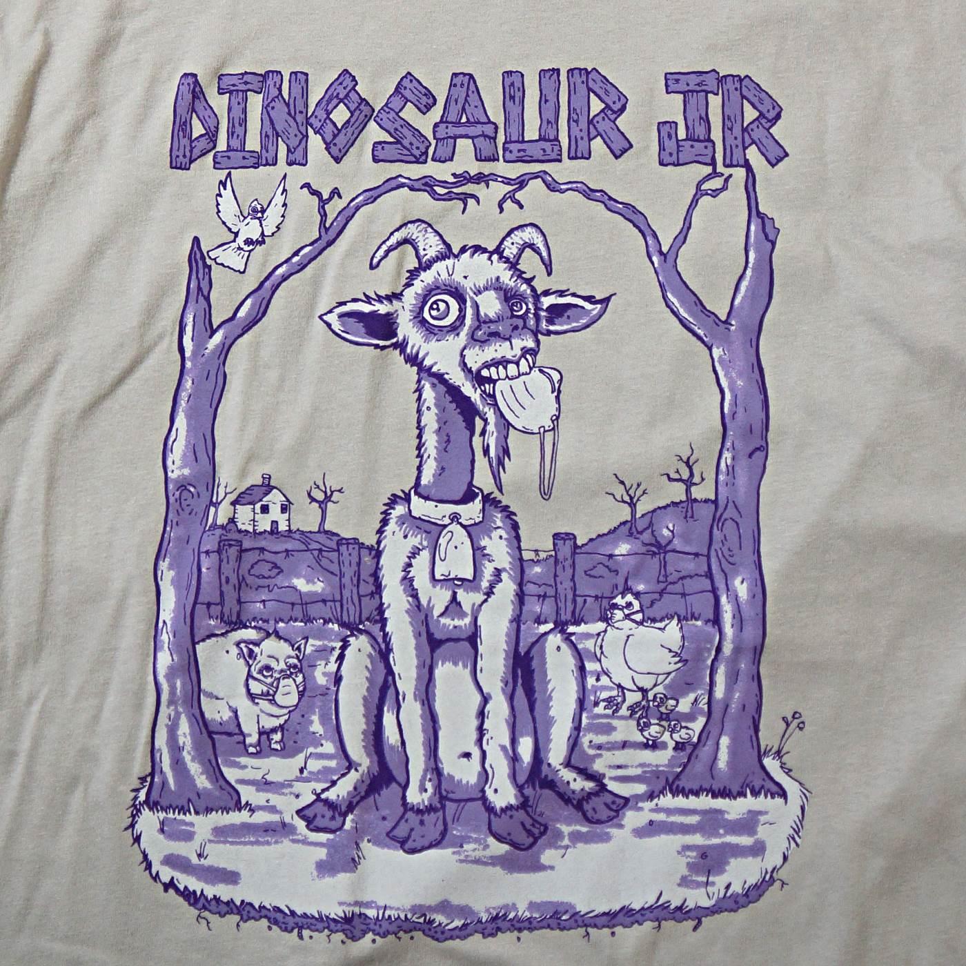 DINOSAUR Jr. Tシャツ Goat-Gray