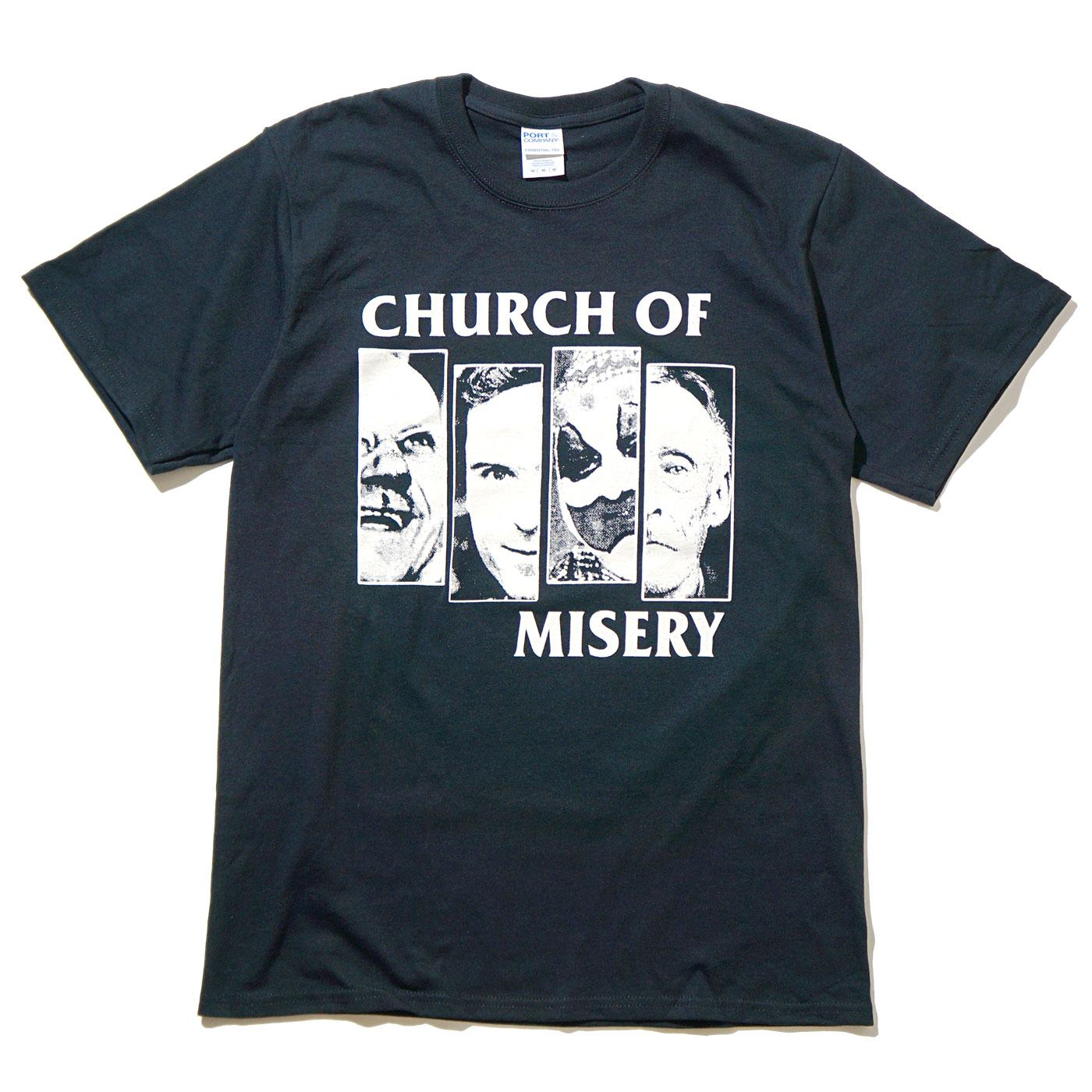 CHURCH OF MISERY Tシャツ Black Flag