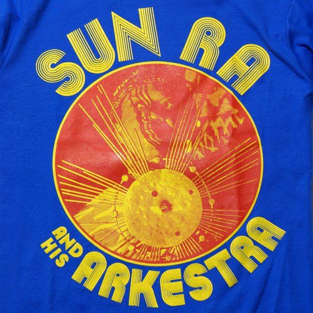 SUN RA & HIS ARKESTRA Tシャツ CIRCULAR - Blue