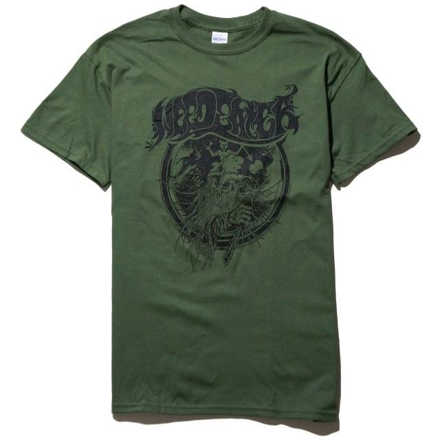 WEEDEATER Tシャツ Black Bread - Green