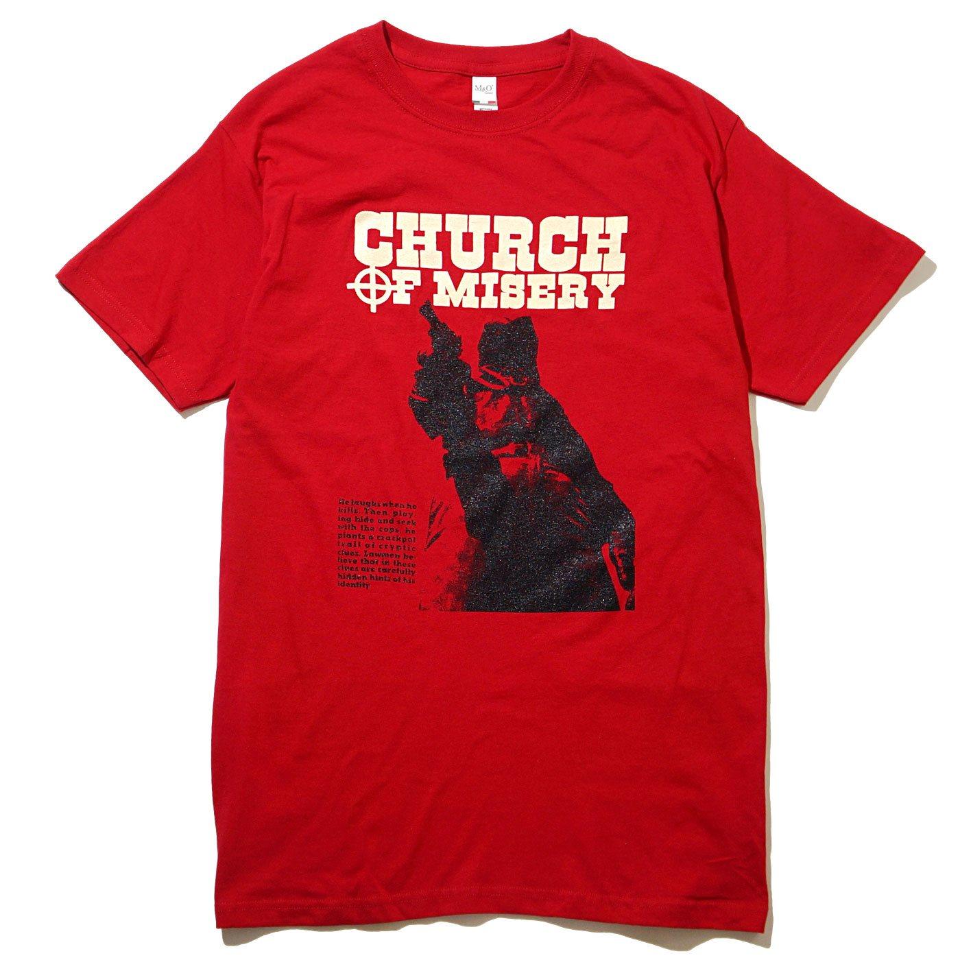 CHURCH OF MISERY Tシャツ ZODIAC-Red