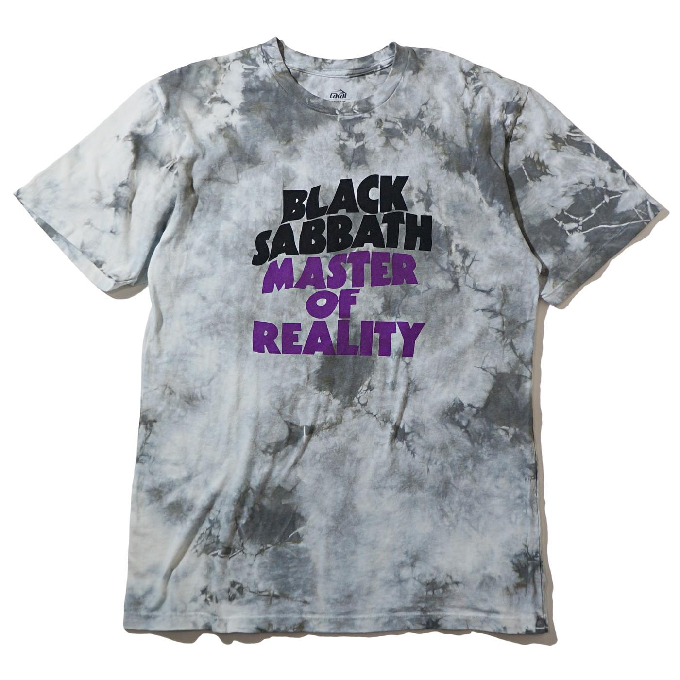 LAKAI x BLACK SABBATH Tシャツ Master Of Reality-White Tie Dye