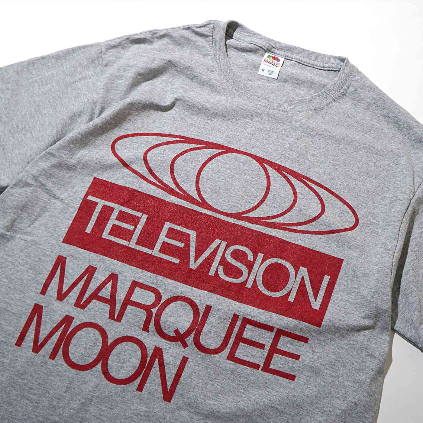 TELEVISION Tシャツ Marquee Moon-Heather Gray
