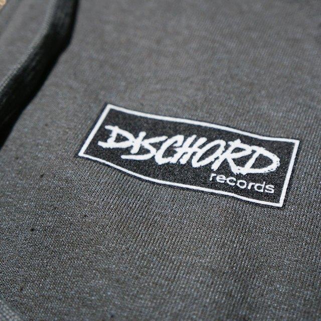 Dischord Records ジップアップパーカー Box Logo - Tweed